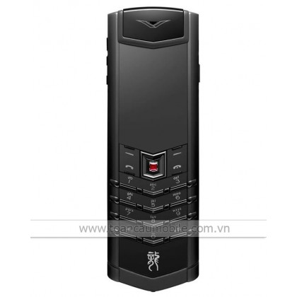 Vertu Signature S Dragon Black PVD Stainless Steel Red Ruby