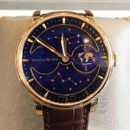 Arnold & Son Royal HM Double Hemisphere Perpetual Moon Red Gold Limited Edition  1GLAR.U03A.C122A