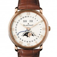 Blancpain Villeret Moonphase and Complete Calendar 6654-3642-55B