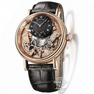 Breguet Tradition Rose Gold Manual Mens Watch 7057BR/R9/9W6