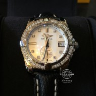 Breitling Galactic 36 Automatique Mother of Pearl Dial Diamond Unisex A3733053