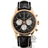 Breitling Transocean Chronograph Rose Gold RB015212/BF15