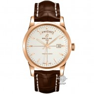 Breitling Transocean Day Date Rose Gold Mercury Silver R4531012/B752