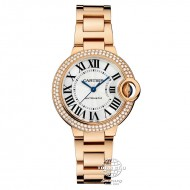 Cartier Ballon Bleu de Cartier Rose Gold with Diamond WE902064