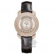 Chopard Happy Diamonds Rose Gold Mother of Pearl Dial 209245-5001