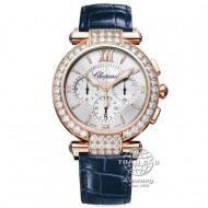 Chopard Imperiale Rose Gold with Diamond Chronograph 384211-5003