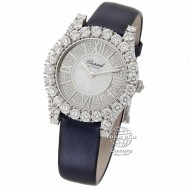 Chopard L'Heure du Diamant Diamond Guilloche Dial Ladies Watch 139419-1001
