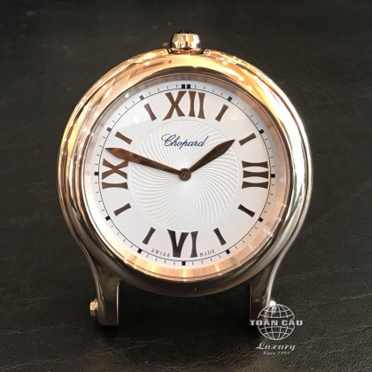 Chopard Happy Sport Table Clock Rose Gold 95020-0085
