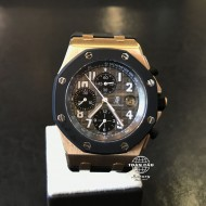 Audemars Piguet Royal Oak Rose Gold Offshore Rubberclad 25940OK.OO.D002CA.01 (mới 95%)