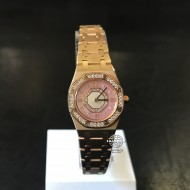 Audemars Piguet Royal Oak Rose Gold with Diamond E21085 (mới 92%)