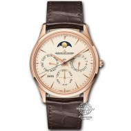 Jaeger LeCoultre Master Ultra Thin Perpetual Calendar Rose Gold Q1302520 (mới 95%)