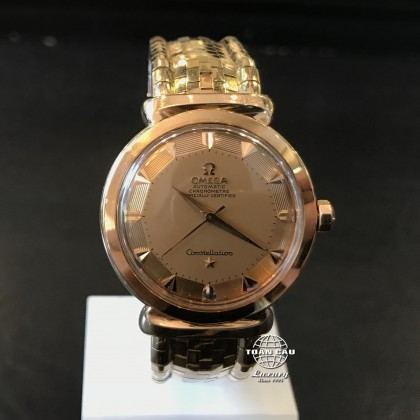 Omega Constellation Grand Luxe Rose Gold 14365 (mới 90%)