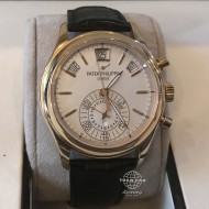 Patek Philippe Complications Chronograph Rose Gold White Opaline Dial 5960R-011 (mới 95%)