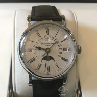 Patek Philippe Complications Perpetual Calendar White Gold 5159G-001 (mới 95%)