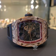 Richard Mille RM023 Skeletonised Rose Gold Custom Diamond (mới 95%)