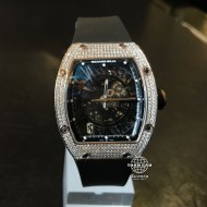 Richard Mille RM023 White Gold Full Custom Diamond Pave (mới 95%)