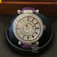 Franck Muller Double Mystery Color Dream White Gold, Diamond and Rubies