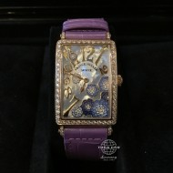 Franck Muller Long Island Rose Gold with Diamonds, Mother of Pearl Dial 952 QZ REL MOP BU D 1R