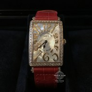 Franck Muller Long Island Rose Gold with Diamonds, Mother of Pearl Dial 952 QZ REL MOP D 1R CD8