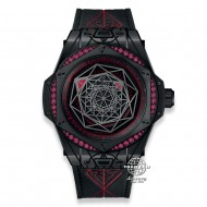 Hublot Big Bang Sang Bleu All Black Red Limited Edition 465.CS.1119.VR.1202.MXM18