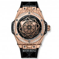 Hublot Big Bang Sang Bleu King Gold Diamonds 465.OS.1118.VR.1204.MXM17