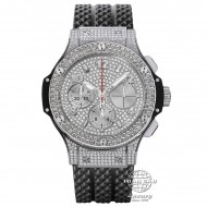 Hublot Big Bang Stainless Steel Full Diamond Pave 341.SX.9010.RX.1704