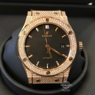 Hublot Classic Fusion King Gold Diamond Pave 542.OX.1181.LR.1704