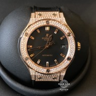 Hublot Classic Fusion Rose Gold Diamond Pave 565.OX.1180.LR.1704