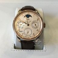 IWC Portugieser Perpetual Calendar Single Moon Rose Gold IW502306