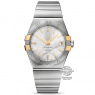 Omega Constellation Omega Co-axial Steel and Yellow Gold 123.20.38.21.02.005