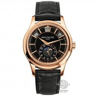 Patek Philippe Complications Annual Calendar, Rose Gold, Black Dial 5205R-010