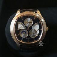 Piaget Black Tie Emperador Cushion-Shaped Perpetual Calendar Rose G0A33019