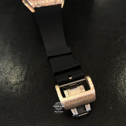 Richard Mille RM67-01 Rose Gold Full Diamond Pave