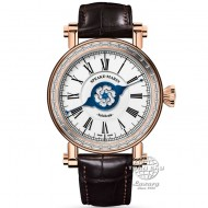 Speake Marin J-Class Velsheda 42mm Red Gold, Baguette Diamonds 10025