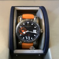 Speake Marin Spirit Wing Commander 42mm Titanium Orange SMT11043