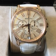 Zenith El Primero Captain Chronograph Rose Gold with Diamond 22.2114.400/34.C510