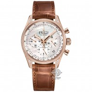 Zenith El Primero Chronograph Rose Gold with Diamond 22.2151.400/81.C709