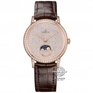 Zenith Elite Lady Moonphase Rose Gold Full Diamond 22.2320.690/79.C713