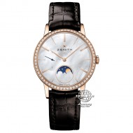 Zenith Elite Ultra Thin Lady Moonphase Rose Gold 22.2320.692/80.C713